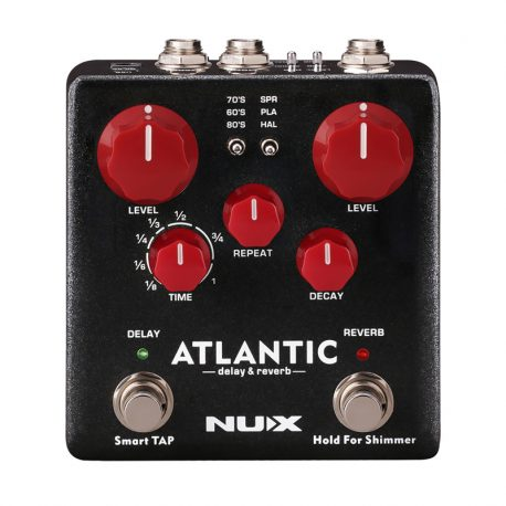 NUX-NDR5-Atlantic-Delay-&-Reverb-Effects-Pedal