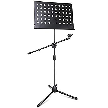 Notation with Mic Stand
