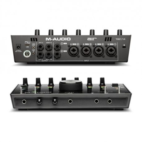 M-Audio-AIR-192-14-Front-Back