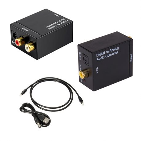Digital-Optical-to-RCA-out-put-converter