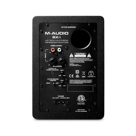 M-Audio-BX4-rear