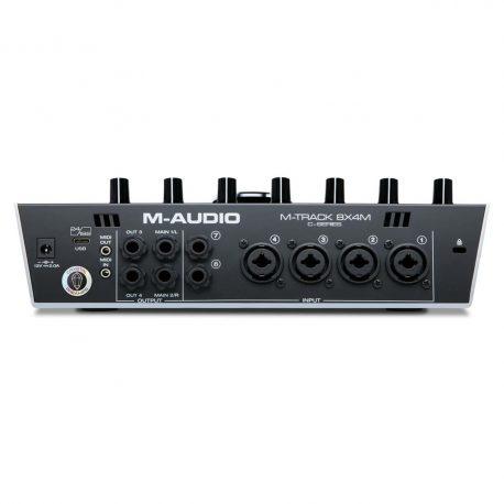 M-Audio-M-Track-8x4M-rear